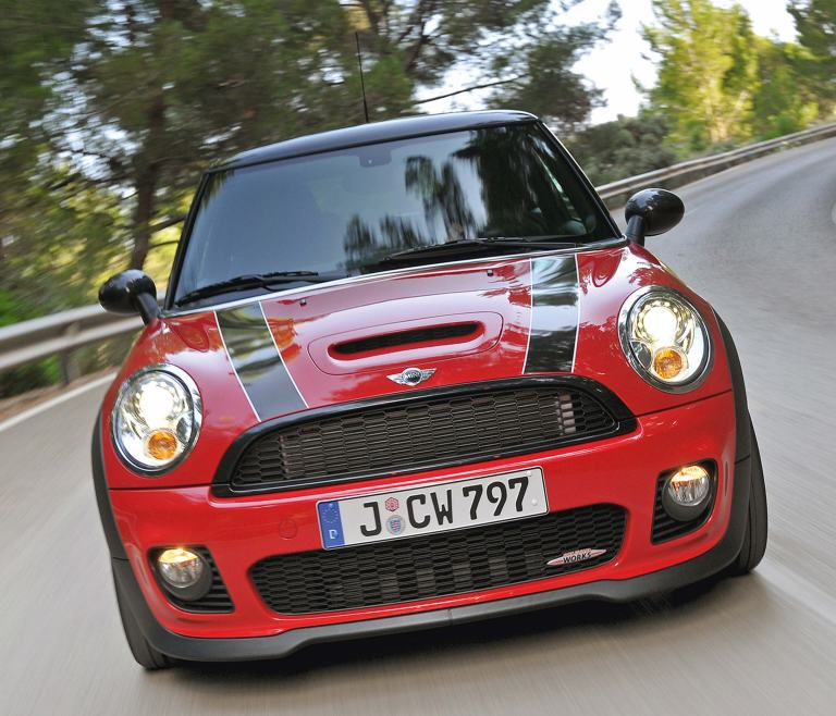 MINI John Cooper Works Clubman – vista frontal