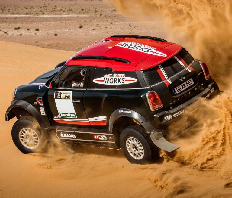 Coche de rally X-raid MINI John Cooper Works – Rally Dakar